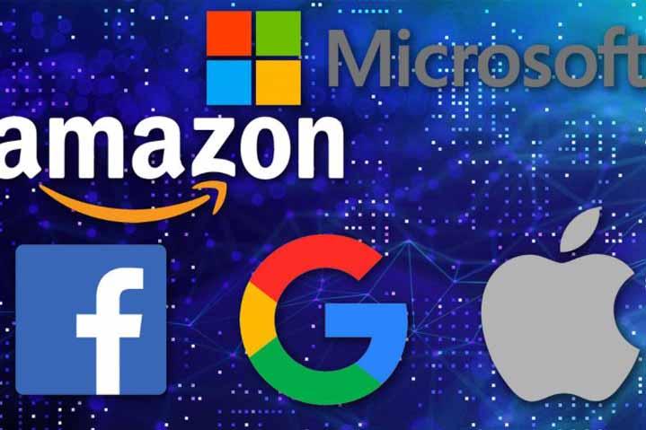 Microsoft Google Facebook Apple