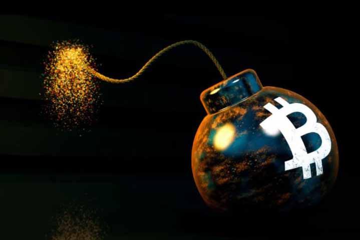 Időzített bomba a bitcoin piacán