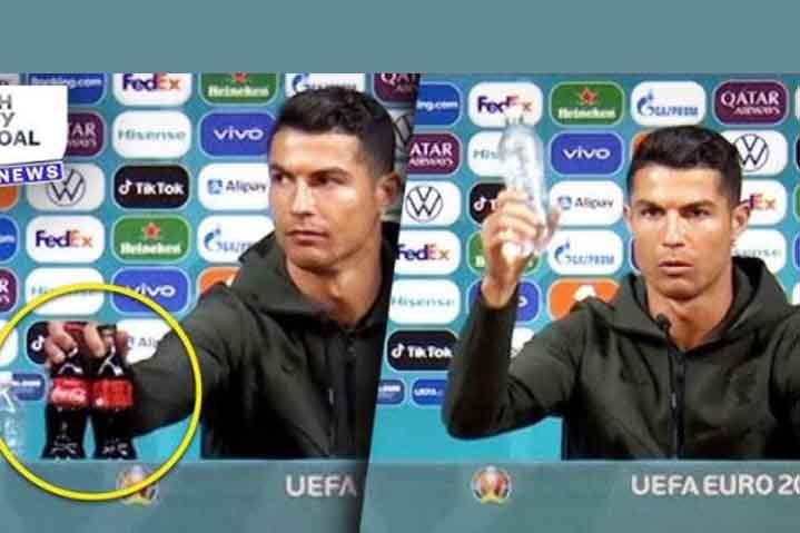 Cristiano Ronaldo utálja a Coca-Colát - Részvény Kereskedés