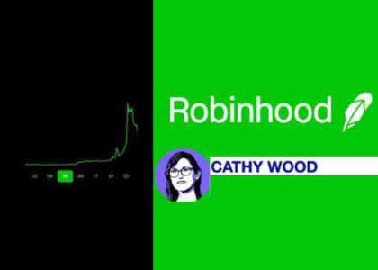 Cathy Wood zsákolja a Robinhoodot